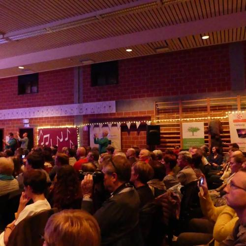 Benefietconcert ten voordele van OverStem Kanker georganiseerd door Sing2Help2Sing.